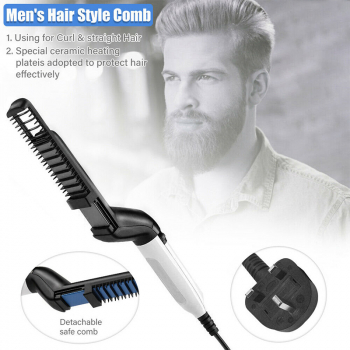 Multifunctional Hair Styler Quick Beard Straightening Curling Iron