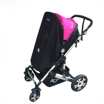 Stroller Cover Wind Shield Sun Visor - Black