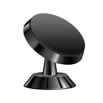 Universal 360 Degree Rotating Magnetic Dashboard Phone Holder - Black