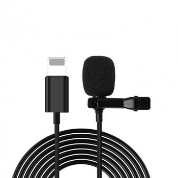 Lavalier Microphone for iPhone Cellphone