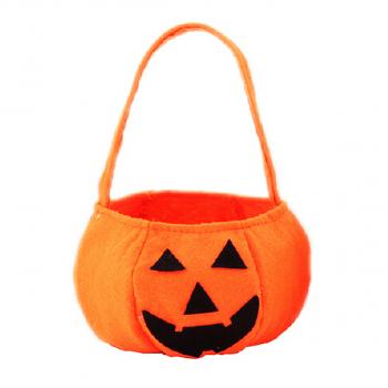 Pumpkin Candy Bag Halloween Party Gift Bag