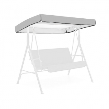 Replacement Canopy for Swing Seat 3 Seater Sizes - Grey