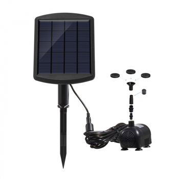 Solar Powered Submersible Water Fountain Pump