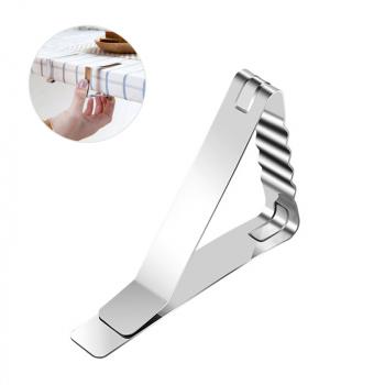 6 pcs Steel Table Cloth Holder Clip - Ripple