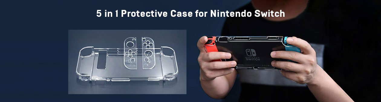 5 in 1 Protective Case for Nintendo Switch