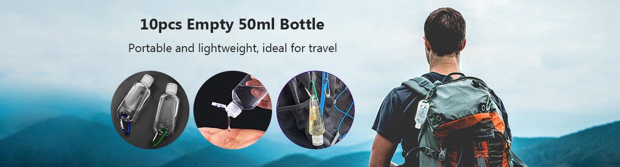 10pcs Empty 50ml Bottle