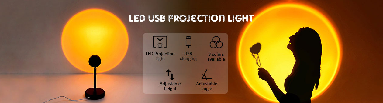 LED USB Projection Light
