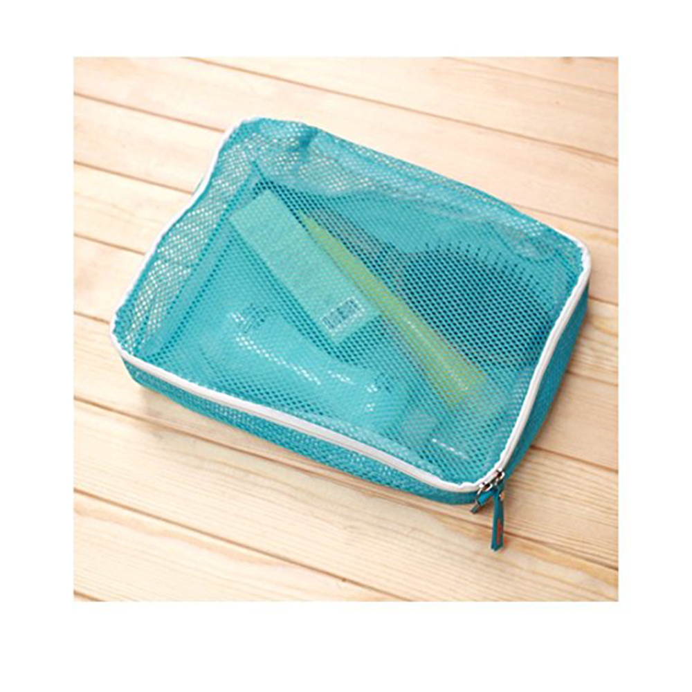 5 pcs Travel Sorting Bag Suitcase Tidy Organizer - Blue